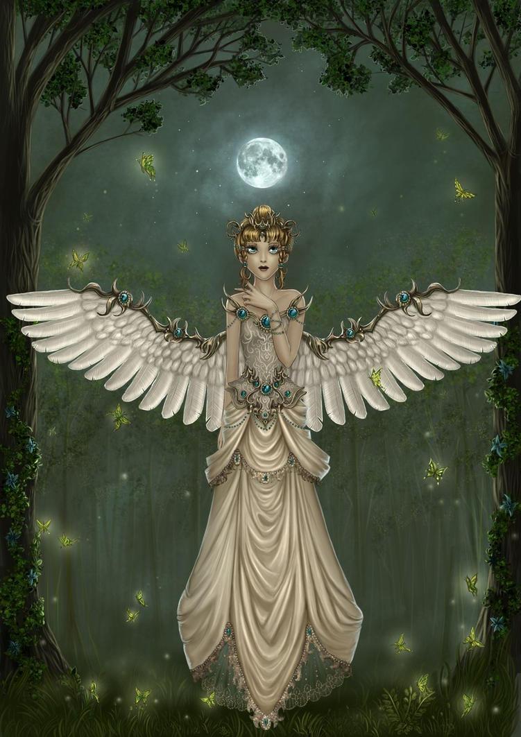 Green Angel by Irulana