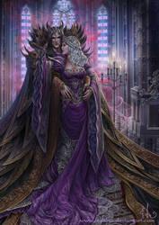 Dark Lord and Viola by Irulana