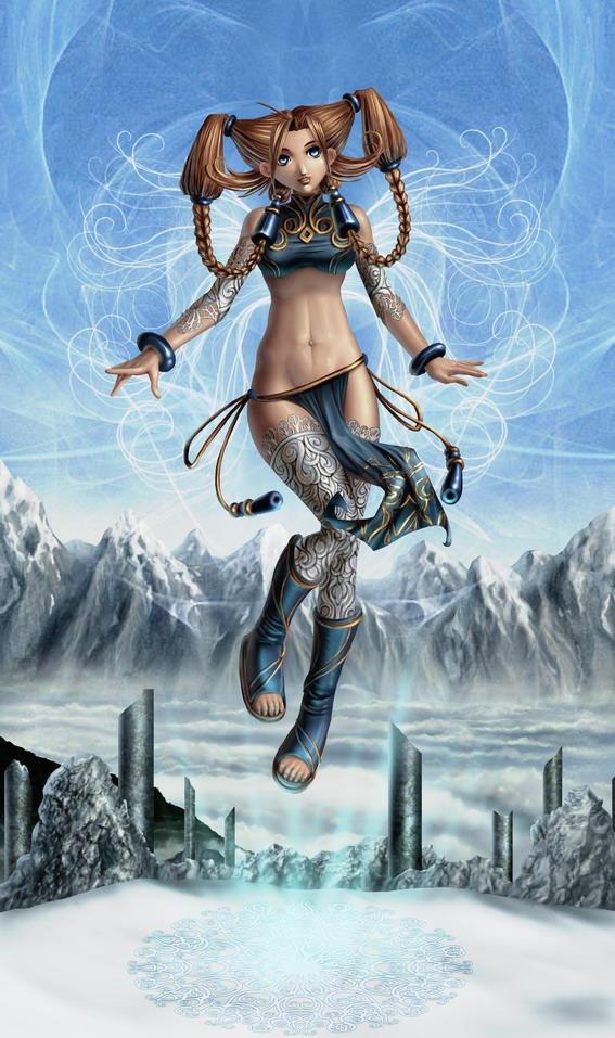 Blue Fairy by Irulana