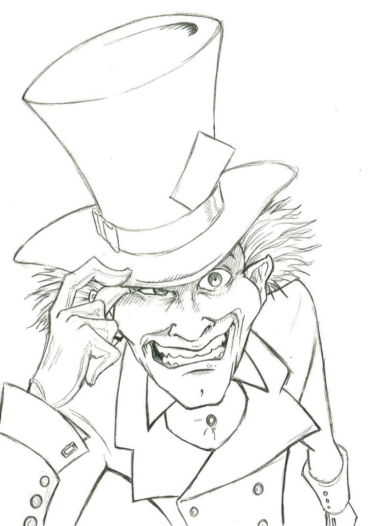 mad hatter by bevismusson on deviantart
