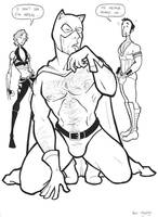 Catman Beefcake by BevisMusson