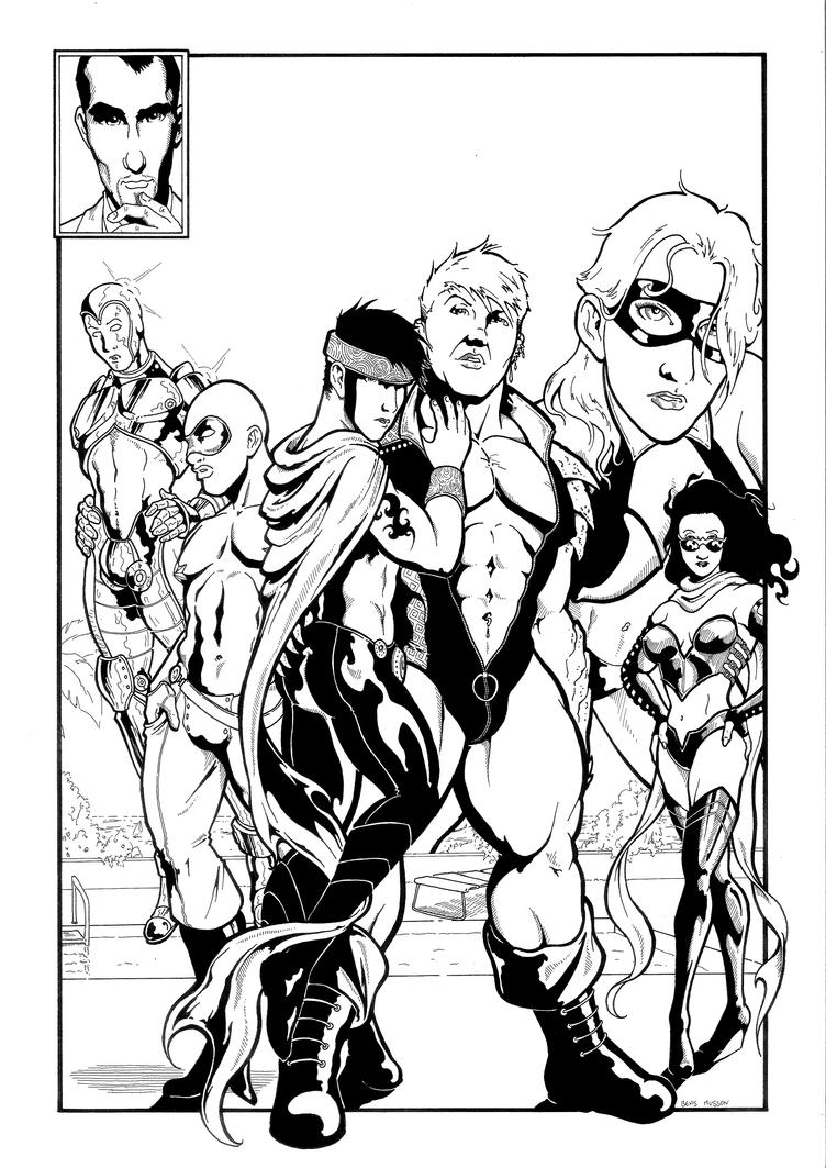 Jailbait Avengers by BevisMusson