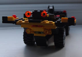 Lego Batmobile 7 by BevisMusson