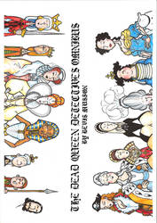 Dead Queen Detectives Colour Cover by BevisMusson