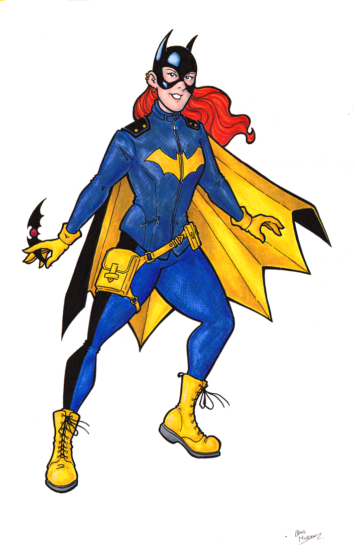 Batgirl Colour by BevisMusson