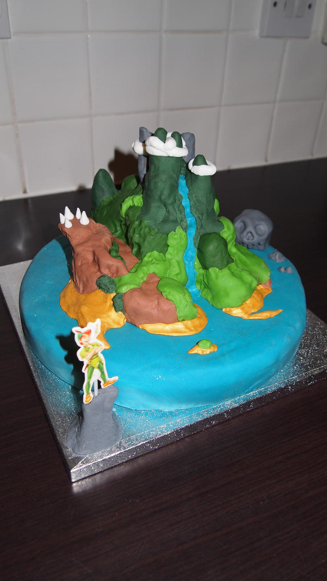Neverland cake by BevisMusson
