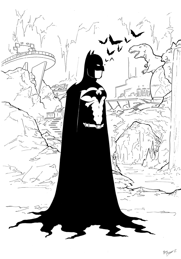 Batman by BevisMusson