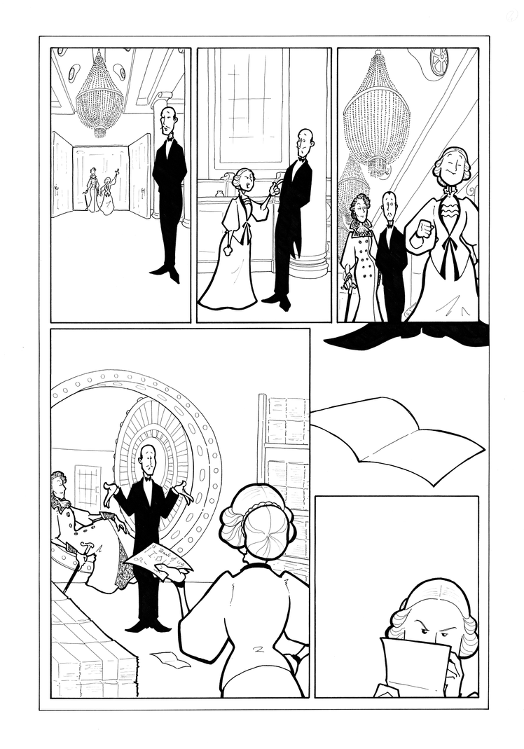 Mrs Hudson Inks P4 by BevisMusson
