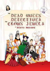 The Dead Queen Detectives: The Crown Jewels cover