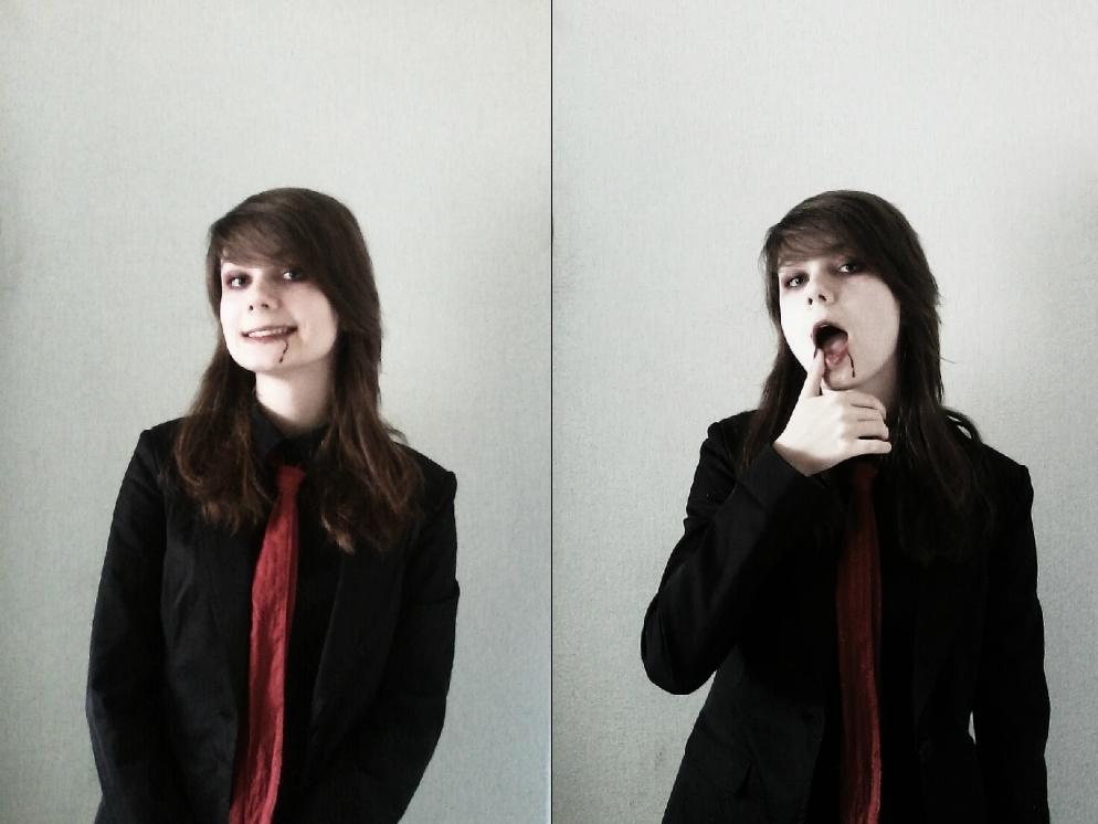 Gerard Way cosplay 3 . Vampire Gerard by MilanieMori
