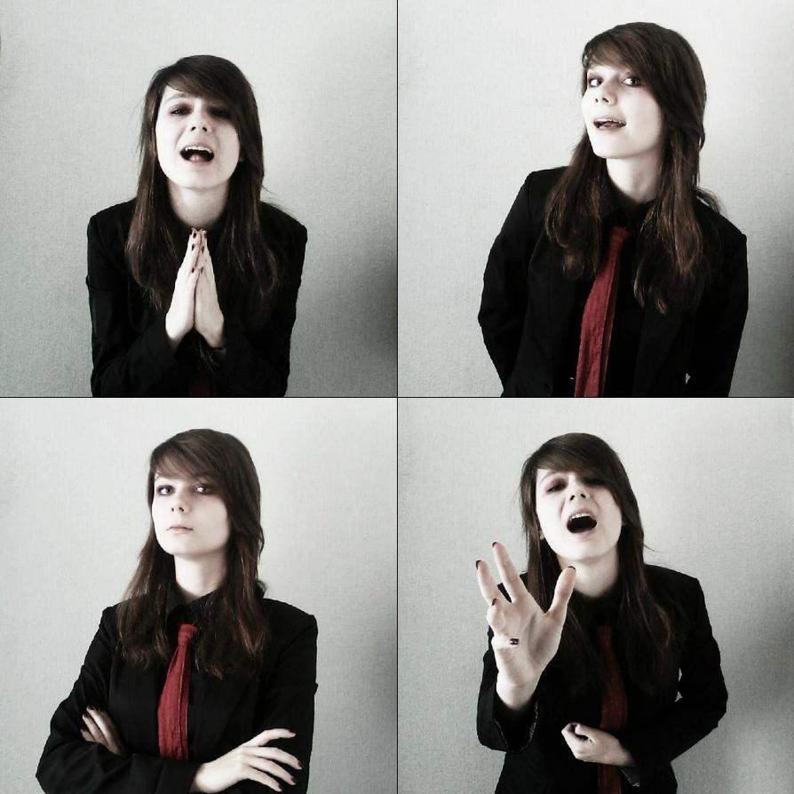 Gerard Way cosplay 4 / Helena by MilanieMori