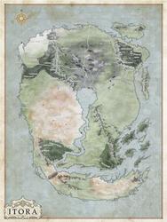 Map of Itora