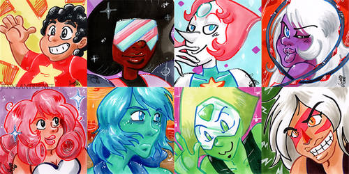 Crystal Gems! (and various other)