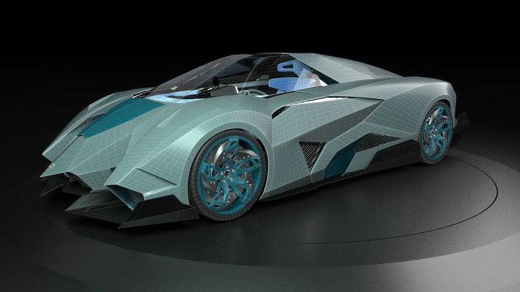 Lamborghini Egoista By Amarthgul On Deviantart