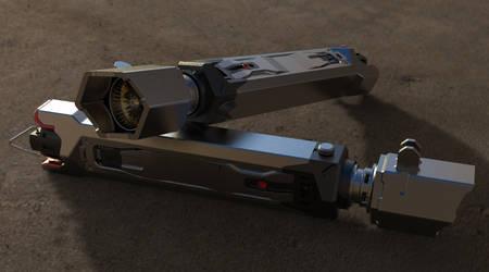 Lightsaber Design Preview Render by AmarthGul
