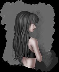 Random Sketch #47 Octavia Melody by AmarthGul