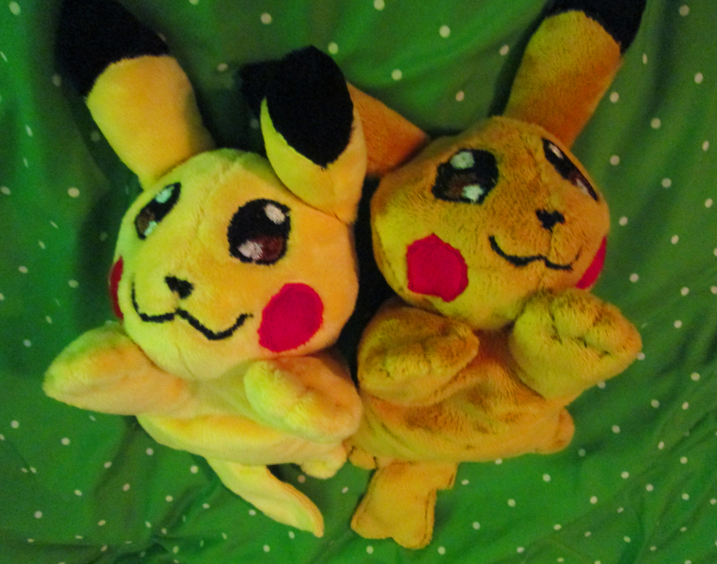 Pikachu Beanie Plushies (FOR SALE) by blackrathmar