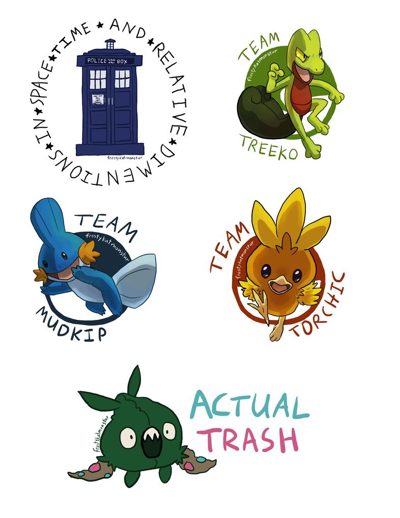MOAR stickers by blackrathmar