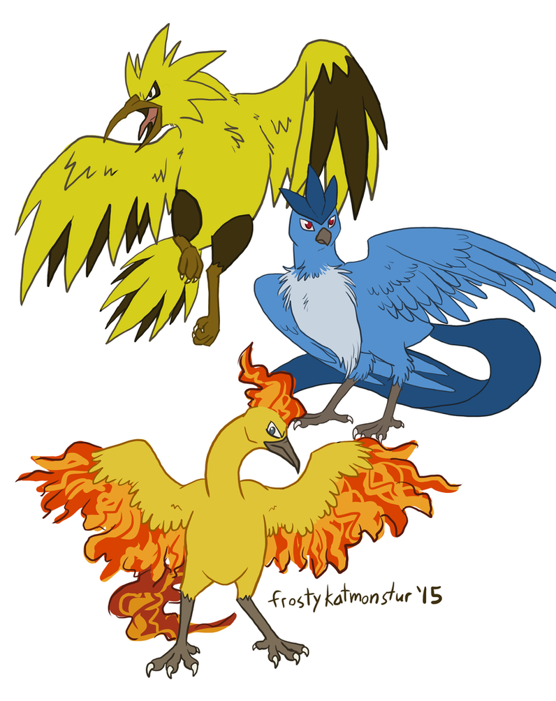 Legendary Birds by blackrathmar
