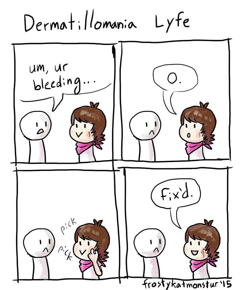 Dermatillomania Art Dermatillomania Art   ...