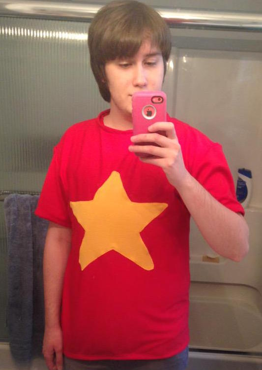Steven Universe shirt by blackrathmar