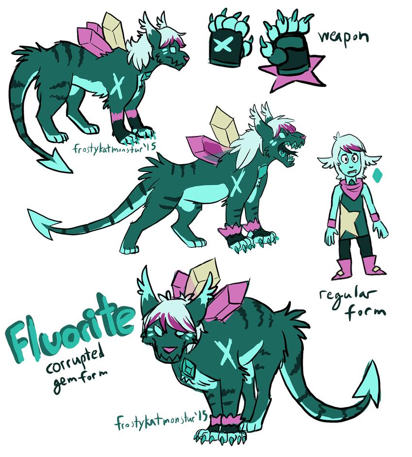 corrupted fluorite by blackrathmar
