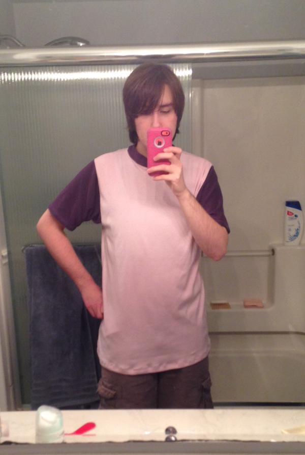 Pink n' Purple T-Shirt by blackrathmar