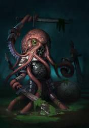 Octozombie by jonhyrock