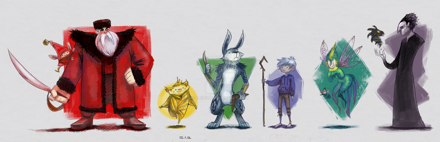 The Guardians of Childhood by eliselu