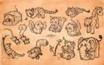 Animals sketchdump adoptables [11/13 OPEN]