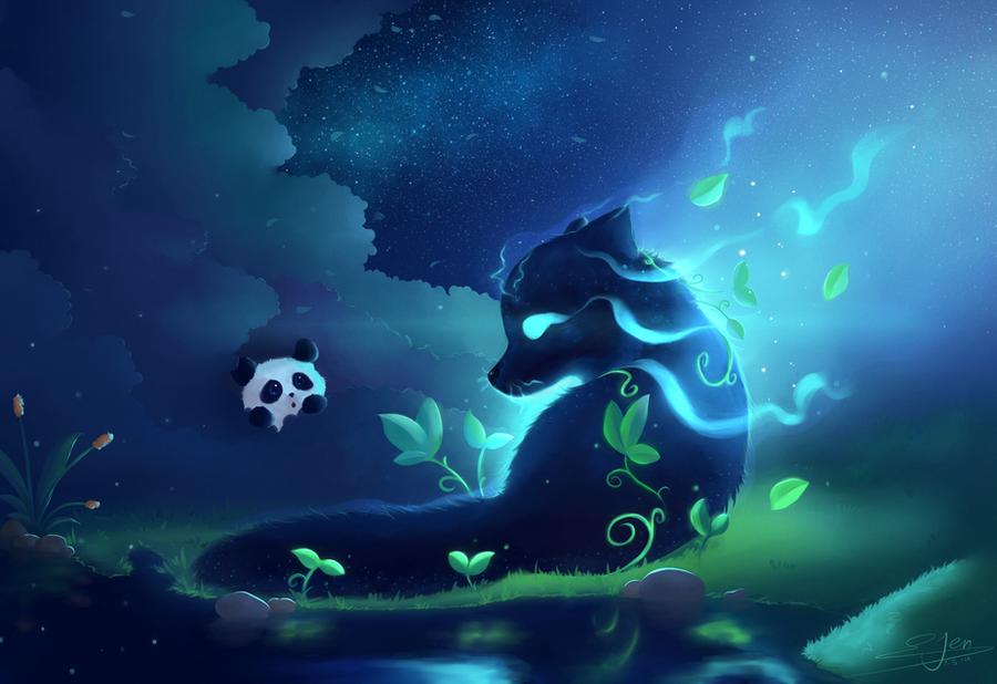 Forest Spirit by NezuPanda