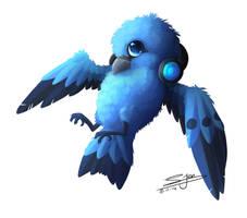 Commission - Blue Bird