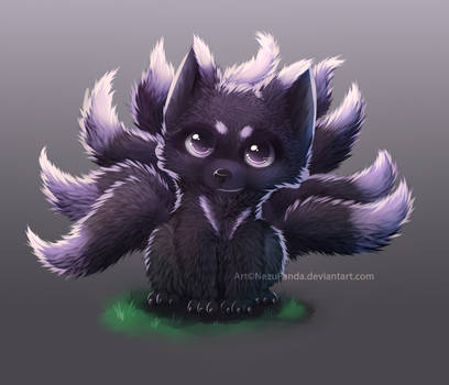Commission - NineFox [+video!]