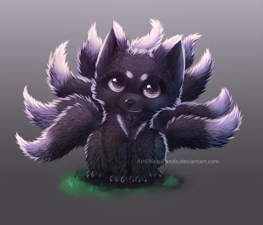 Commission - NineFox [+video!] by NezuPanda