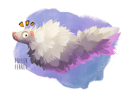 Puffer Ferret