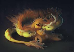Commission - Friendship [+video!] by NezuPanda