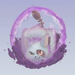 Commission - Ailur's shield