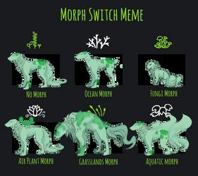 Morph Meme - 626 by Theravenist on DeviantArt