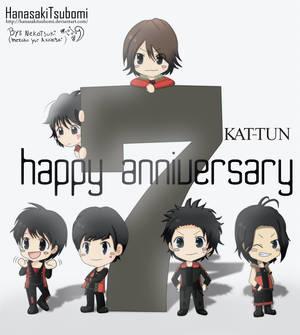 KAT-TUN septimo  aniversario