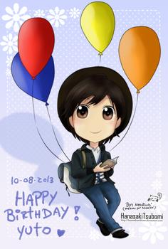 Happy B-Day Nakajima Yuto!!