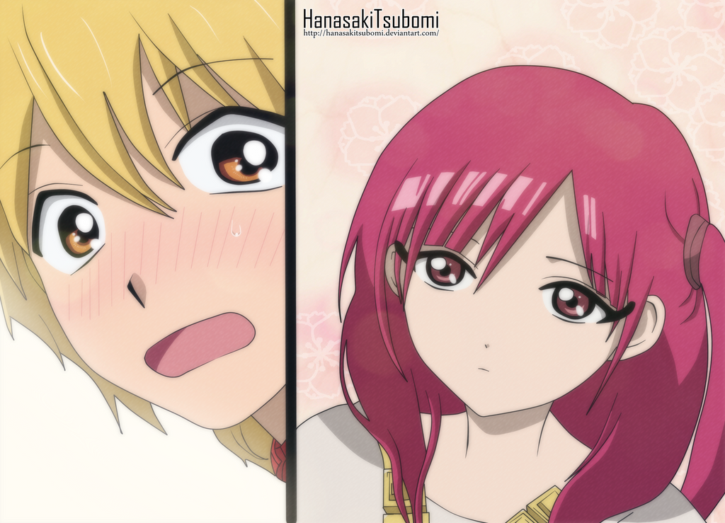 magi alibaba and morgiana kiss - photo #3