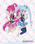 Cure Lovely y Cure Princess -Heartcatch version-