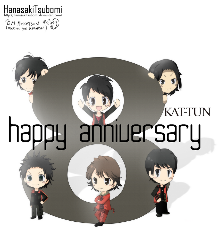 KAT-TUN octavo aniversario!! by HanasakiTsubomi
