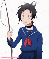 Tsurugi sailor fuku by HanasakiTsubomi
