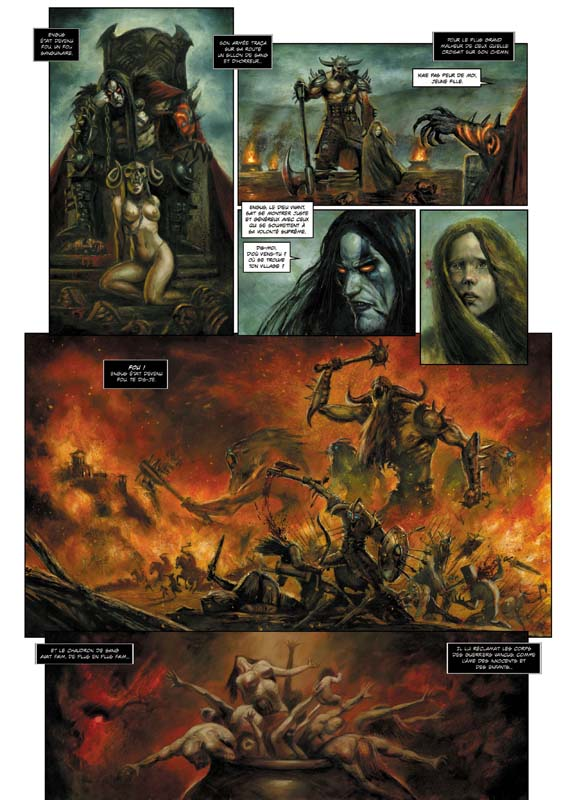 ARAWN issue 5, preview by sebastien-grenier