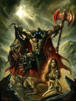 'Arawn Chronicles' cover by sebastien-grenier