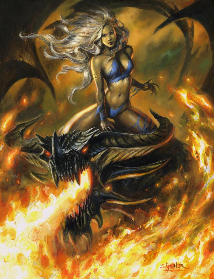 Mother-of-Dragons by sebastien-grenier