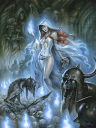 Zombie Queen by sebastien-grenier