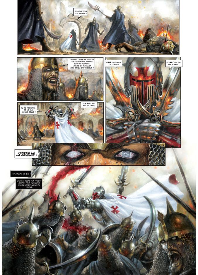 La Cathedrale des immortels: a new page