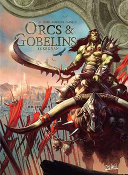 Orcs et Gobelins Issue 11 covernart